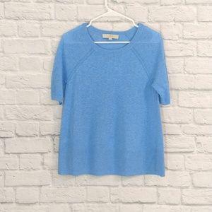 LOFT | Light Weight Short Sleeve Knit Sweater